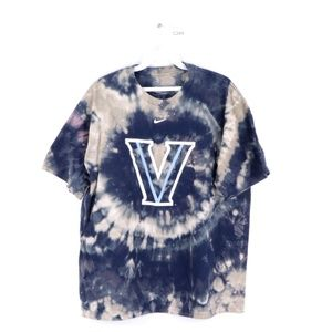 Nike Mens Medium Villanova Acid Wash T Shirt